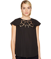 Kate Spade New York - Lace Embroidered Top
