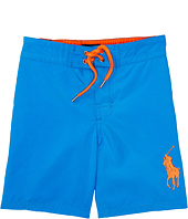 Polo Ralph Lauren Kids - Poly Twill Sanibel Boardshorts (Toddler)