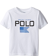 Polo Ralph Lauren Kids - Cotton Poly Graphic Crew T-Shirt (Toddler)