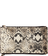 Lodis Accessories - Kate Exotic Lani Double Zip Pouch