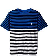 Polo Ralph Lauren Kids - Yarn-Dyed Slub Jersey Pocket Tee (Big Kids)