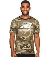 New Balance - Essentials Stacked Logo Tee