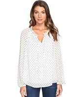 NYDJ - Clipped Jacquard Soft Blouse