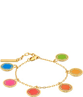 Marc Jacobs - Logo Disc Rainbow Statement Bracelet