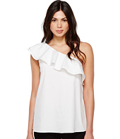 Vince Camuto - Sleeveless One-Shoulder Ruffled Blouse