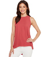Vince Camuto - Sleeveless Pleat Back High-Low Hem Blouse