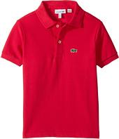 Lacoste Kids - L1812 Short Sleeve Classic Pique Polo (Toddler/Little Kids/Big Kids)