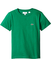 Lacoste Kids - Short Sleeve Crew Neck Tee (Toddler/Little Kids/Big Kids)