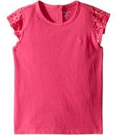 Ralph Lauren Baby - Cotton Jersey Flutter Top (Infant)