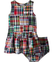 Ralph Lauren Baby - Madras Patchwork Dress (Infant)