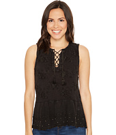 Lucky Brand - Washed Studded Tank Top