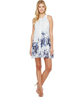 Calvin Klein - Printed Inverted Pleat Dress