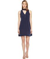 Calvin Klein - Sleeveless Choker Dress with Button