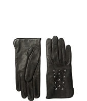 COACH - Star Studded Leather Gloves