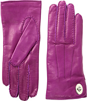 COACH - Leather Turnlock Gloves