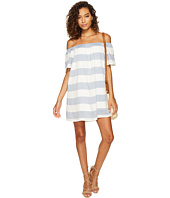 BB Dakota - Kash Striped Off the Shoulder Dress