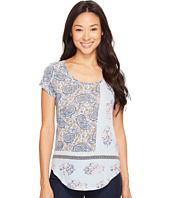 Lucky Brand - Paisley Mixed Tee