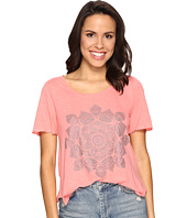 Lucky Brand - Studded Lotus Tee