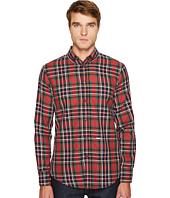 DSQUARED2 - Check Cotton Button Down Shirt