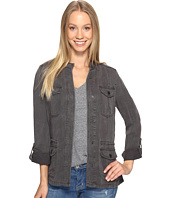 Lucky Brand - Collarless Military Jacket