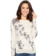 Lucky Brand - Placed Floral Pullover Sweater