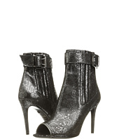 Just Cavalli - Metallic Peep Toe Bootie