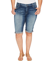 Lucky Brand - Plus Size Ginger Bermuda Shorts in Tamarac