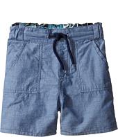 Paul Smith Junior - Bike/Chambray Reversible Shorts (Toddler/Little Kids)