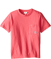 Paul Smith Junior - Short Sleeve Fuchsia Tee with Pocket (Toddler/Little Kids)
