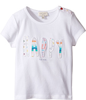 Paul Smith Junior - Short Sleeve White Happy Tee (Infant)