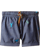 Paul Smith Junior - Dinosaur Chambray Shorts (Infant)