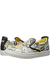 Fendi Kids - All Over Print Slip-On Sneakers (Little Kid/Big Kid)