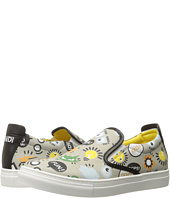 Fendi Kids - All Over Print Slip-On Sneakers (Big Kid)