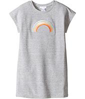 Chloe Kids - Rainbow Milano Short Sleeve Dress (Little Kids/Big Kids)