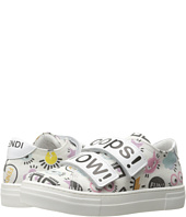 Fendi Kids - Printed Hook and Loop Sneakers (Little Kid/Big Kid)