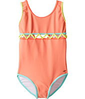 Chloe Kids - Lining Detail One-Piece Swimsuit (Toddler/Little Kids)