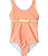 Chloe Kids - Lining Detail One-Piece Swimsuit (Little Kids/Big Kids)