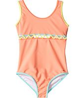 Chloe Kids - Lining Detail One-Piece Swimsuit (Little Kids/Big Kids)