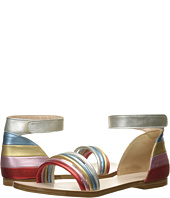 Chloe Kids - Leather Rainbow Colors Sandals (Little Kid)