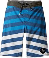 Quiksilver Kids - Crypt Brigg Beach Shorts 14 5 (Toddler/Little Kids)