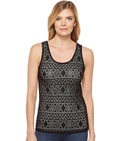 Cruel - Long & Lean Tank Top Tribal Lace