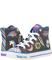 SKECHERS KIDS - Twinkle Toes - Shuffles 10776L Lights (Little Kid/Big Kid)