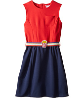 Little Marc Jacobs - Milano Pop Corn Belt Dress (Big Kids)