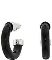 LAUREN Ralph Lauren - 6PM in New York Small Tube 3/4 Hoop Earrings