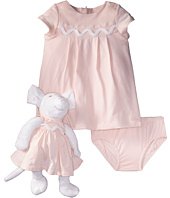 Chloe Kids - Newborn Dress/Bloomer/Mouse Toy Set (Infant)