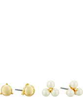 LAUREN Ralph Lauren - Two Dozen Roses Double Stud Earrings Set