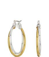 LAUREN Ralph Lauren - Stereo Hearts Large Double Link Hoop Earrings