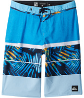 Quiksilver Kids - Slab Print Vee 19 Boardshorts (Big Kids)