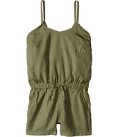 Blank NYC Kids - Romper w/ Eyelet Detail in Olive (Big Kids)