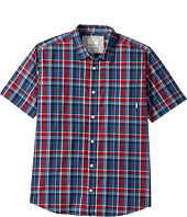 Quiksilver Kids - Everyday Check Short Sleeve Shirt (Big Kids)